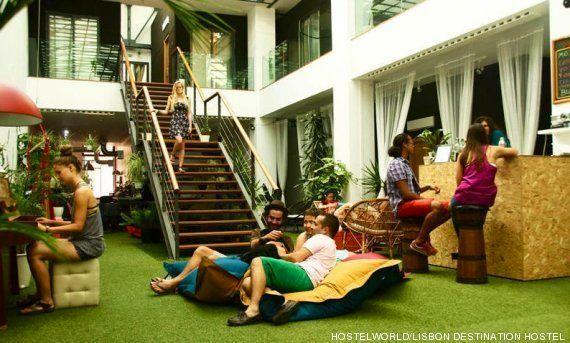 Cuando los mochileros buscan alojamiento, los 'hostels' se van al