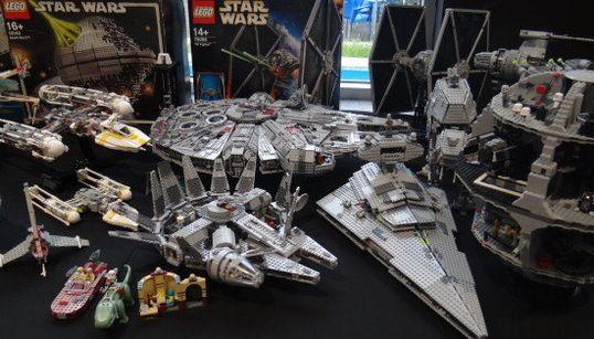 Así es la mayor muestra de Lego de 'Star Wars' que se ha hecho nunca en