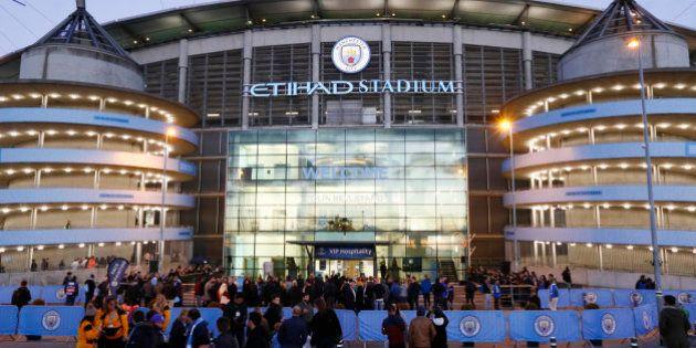 Evacúan el Etihad Stadium antes del City-Barcelona por una falsa