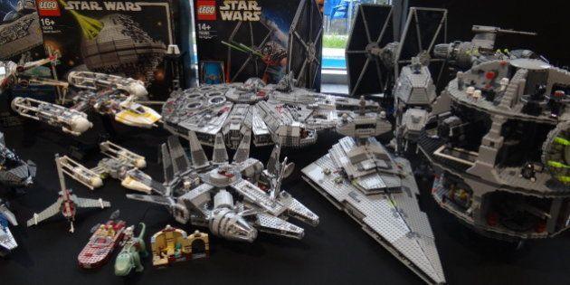 La feria Metrópoli de Gijón acoge la mayor exposición de Lego 'Star Wars' que se ha hecho en