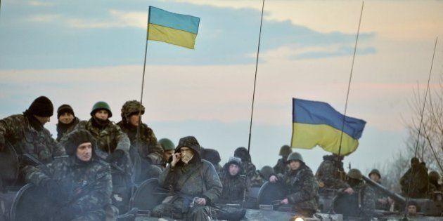 El presidente interino de Ucrania anuncia el inicio de la operación antiterrorista en el