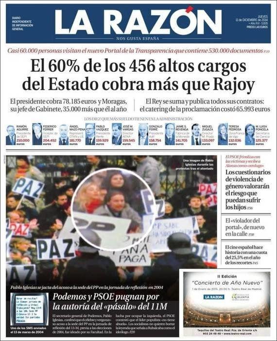 Revista de prensa: Injusta