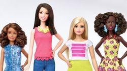 Barbie cambia: la muñeca tendrá tres tipos de cuerpos