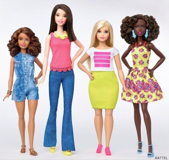 Barbie cambia por primera vez en 57 años: la muñeca de Mattel tendrá tres cuerpos