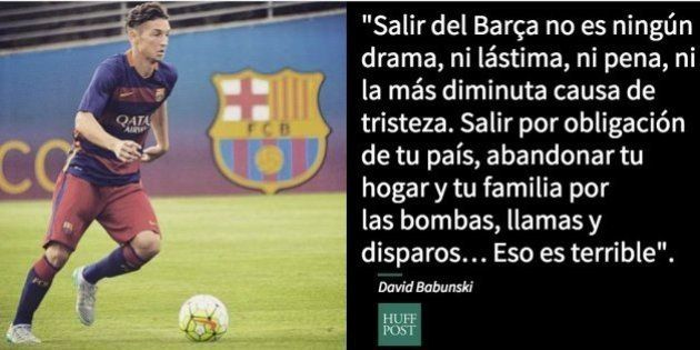 La alucinante carta de despedida de un jugador del Barça