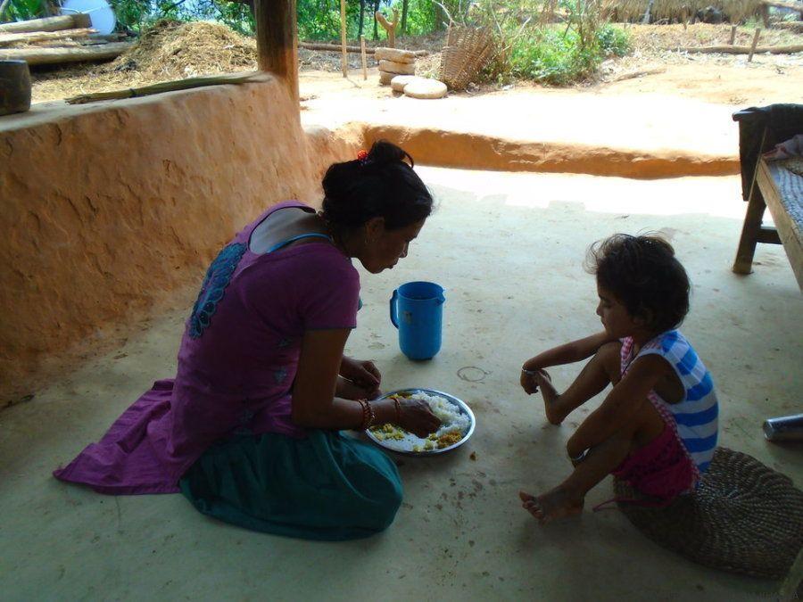 Las chicas de Nepal hacen fotos para denunciar lo que implica tener la regla en su