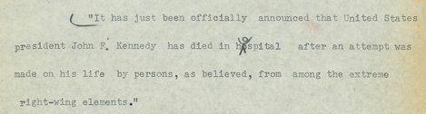 Así se informó en Estados Unidos de la muerte de Kennedy (VÍDEOS,