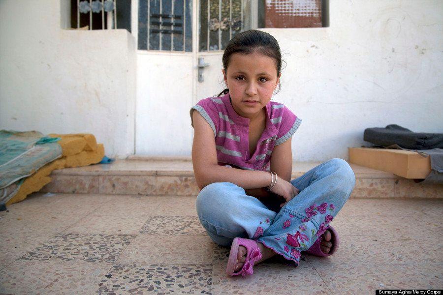 Retratos de niños sirios: la inocencia en medio del trauma