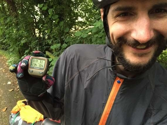 Un español viaja al fin del mundo sin aparato
