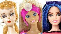 La evolución de Barbie desde 1959 hasta hoy, en un 'time