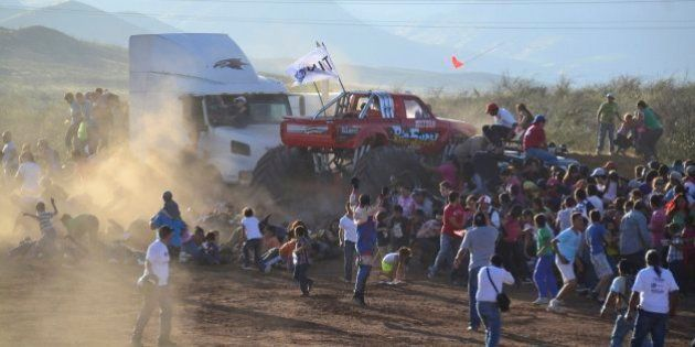 Una exhibición de 'monster trucks' deja ocho muertos en México