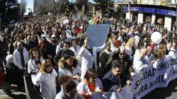 Salamanca se echa a la calle en defensa de su hospital y la sanidad