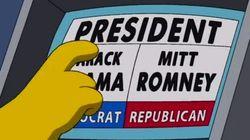 'Los Simpson' eligen a su candidato