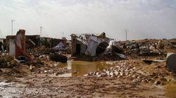 25.000 refugiados saharauis sin techo por inundaciones en sus