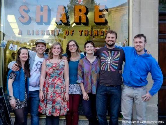 'Share: la biblioteca de las cosas' donde nada se vende y todo se