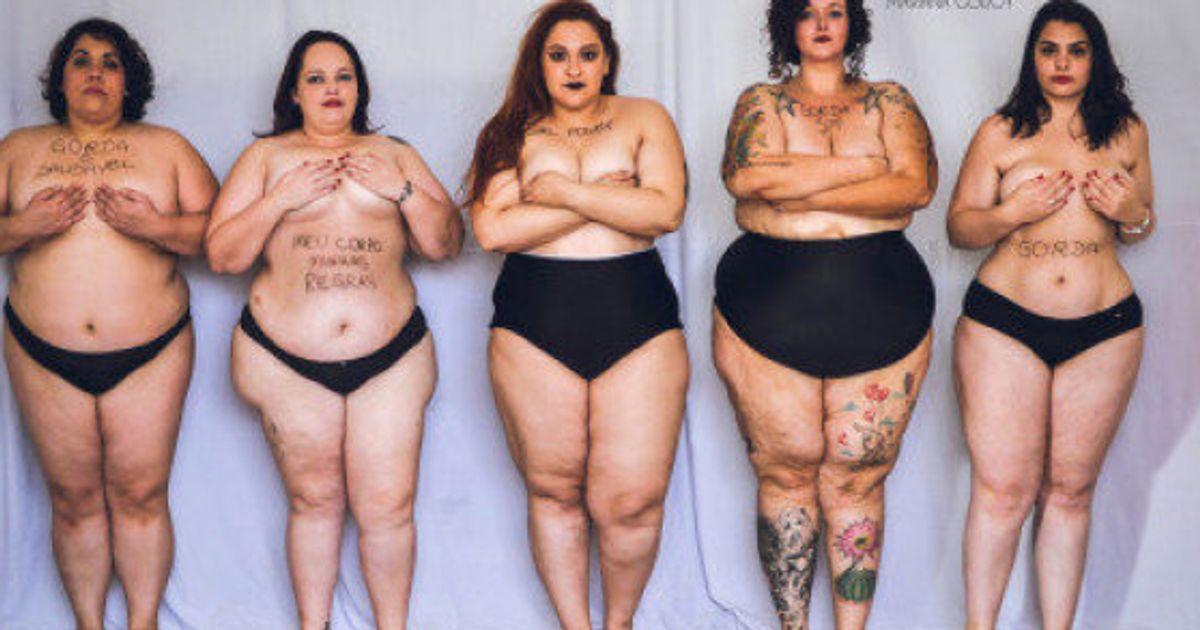 789eb8bdb8 Cinco mujeres 'gordas' posan en ropa interior para eliminar el estigma de  la gordura | El Huffington Post