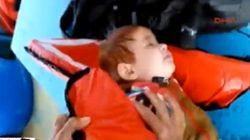 El espeluznante rescate de un bebé