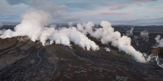 Tercera alerta roja para la aviación por el volcán