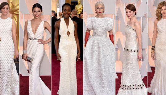 Pantone Oscar 2015: el reparto de colores en la alfombra roja