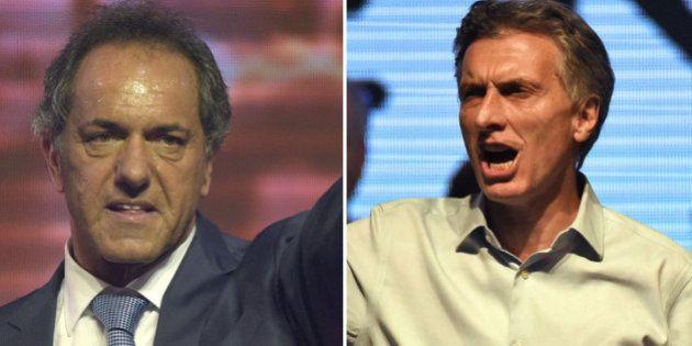 Argentina irá a una inédita segunda vuelta tras el empate técnico entre Scioli y
