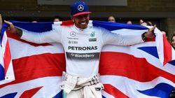 Hamilton, tricampeón del mundo de