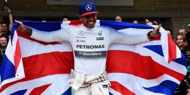Hamilton, tricampeón del mundo de Fórmula