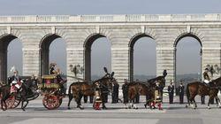 ¿A quién llevan en carroza en Madrid en pleno