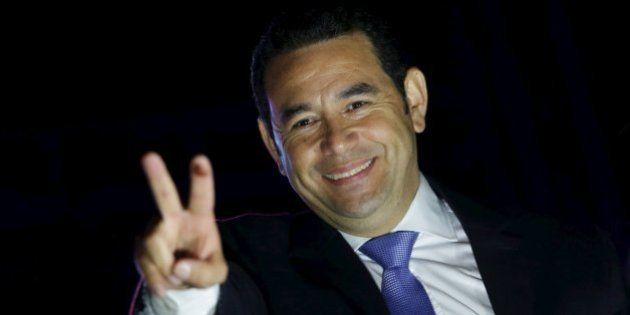 El cómico Jimmy Morales, nuevo presidente de