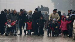 Los rebeldes sirios y Rusia acuerdan una tregua para evacuar