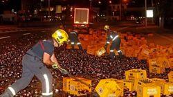 El 'drama' viral de los bomberos de A Coruña con Estrella