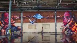 La obra de estos grafiteros triunfa en Internet