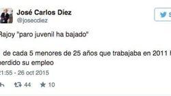Twitter critica y desmiente los datos de Rajoy en