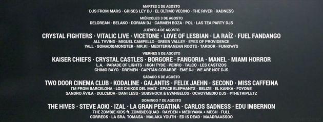 El festival Arenal Sound, en