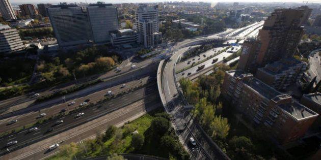 Madrid estudia limitar la velocidad a 70 km/h en la