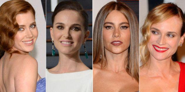 Premios Oscar 2015: los vestidos de la fiesta de 'Vanity Fair'