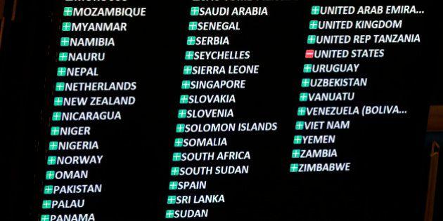 EEUU vota en contra de levantar el embargo a Cuba pese a su histórico