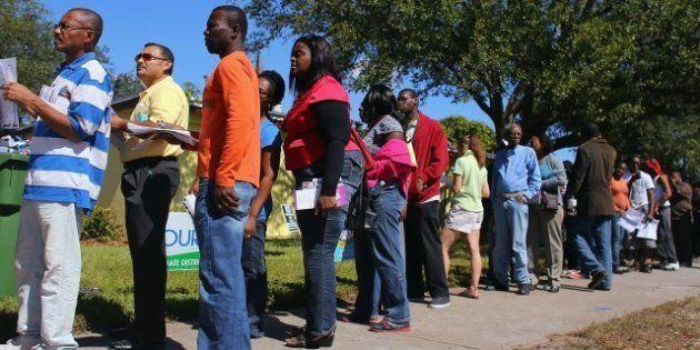 Colas kilométricas para votar en Florida, cuyo Gobernador rechaza ampliar el plazo de voto anticipado
