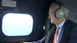 Localizada la cabina del helicóptero donde viajaban los militares