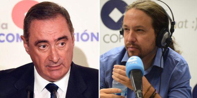 El 'zasca' de Pablo Iglesias a Carlos