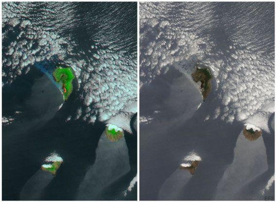 La NASA capta así el incendio de La
