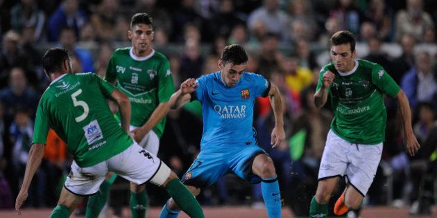 El Villanovense le aguanta el primer asalto al Barça
