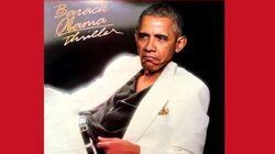 Barack Obama canta 'Thriller' de Michael Jackson... ¿o