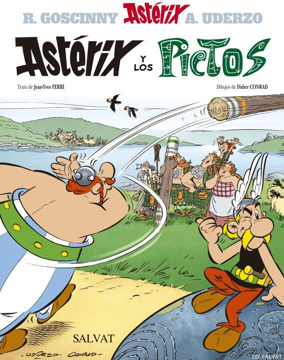 Astérix y los pictos: así es la portada del cómic, con nuevos autores