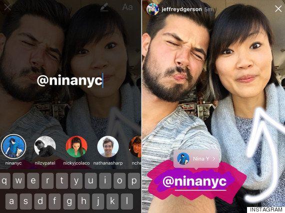 Links, menciones y 'boomerangs': Instagram Stories se