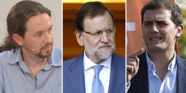 Rajoy recibirá a Pablo Iglesias y a Albert Rivera en Moncloa para hablar de