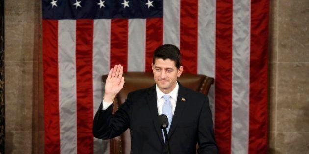 El republicano Paul Ryan, nuevo presidente de la Cámara Baja de