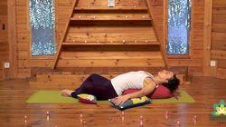 Yoga restaurativo para preparar la llegada del