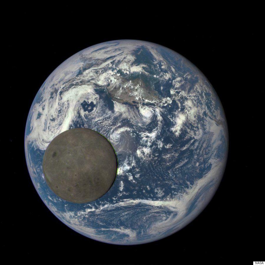 Una imagen nunca vista hasta ahora: la cara oculta de la Luna iluminada por el