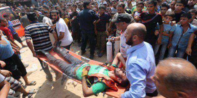 Al menos cuatro palestinos muertos por la explosión de un proyectil de la última guerra en