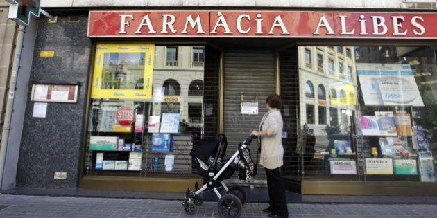 La Generalitat comunica a las farmacias que no tiene dinero para